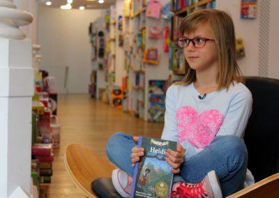 Storytelling (în limba germană) – Heidi