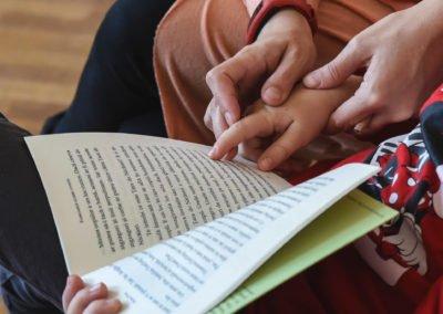 Atelier de lectură pentru copii hipoacuzici – Odiseea