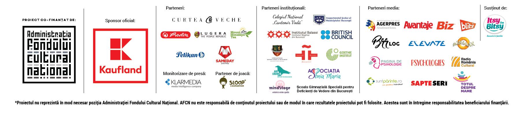Lista parteneri si sponsori Festival 2017